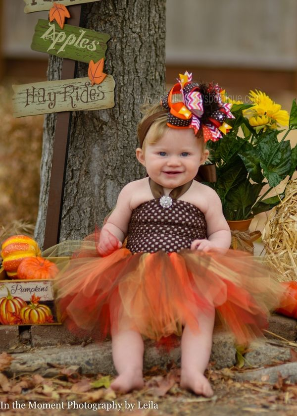 Girls Fall Thanksgiving Tutu Dress