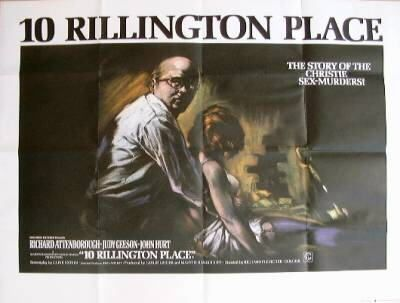 This was a very dark movie Richard Attenborough was so creepy but very well acted. (based on a true story)
