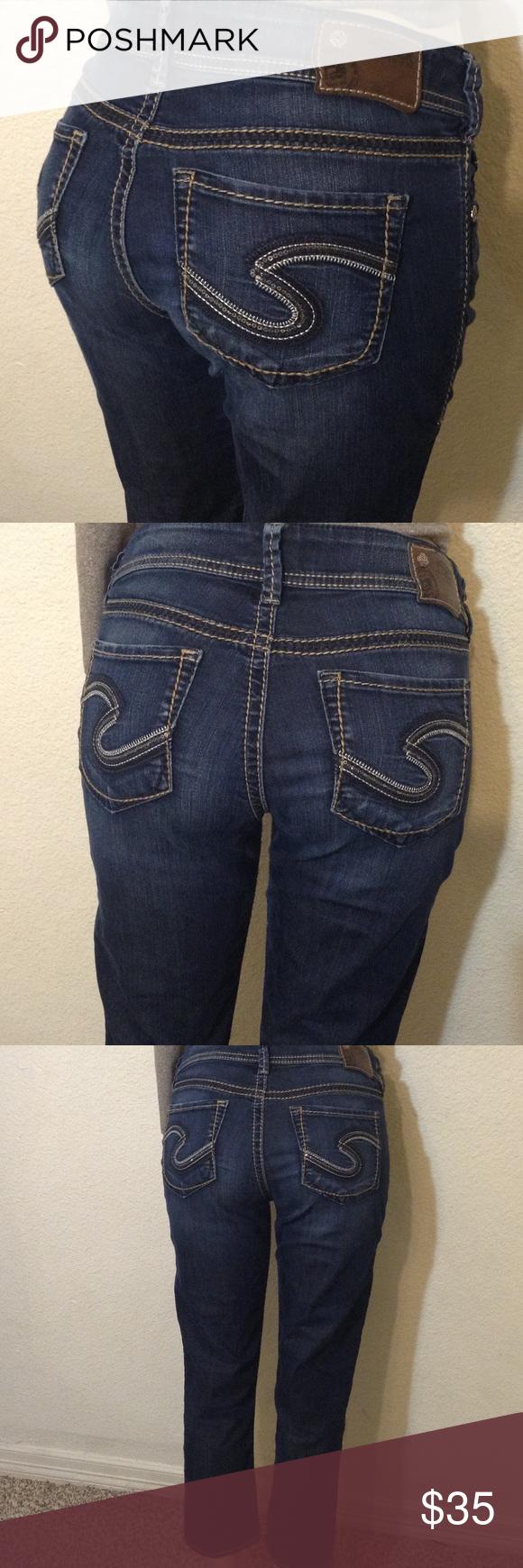 SILVER jeans CAPRI size 29