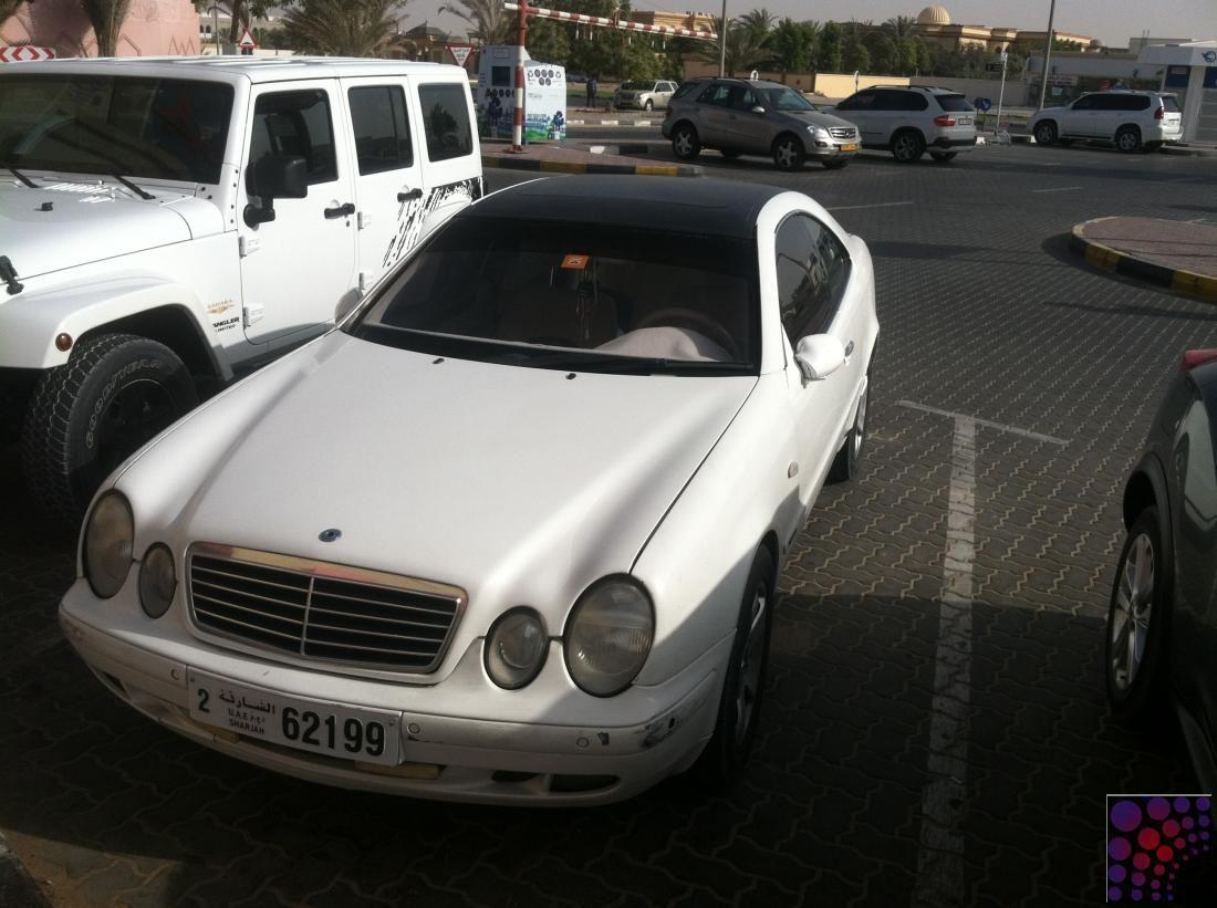 Mercedes benz clk 320 model 1998