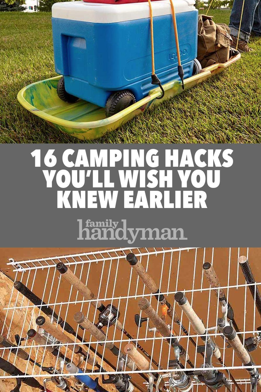 16 Camping Hacks You'll Wish You Knew Earlier -  16 Camping Hacks You'll Wish You Knew Earlier  -
