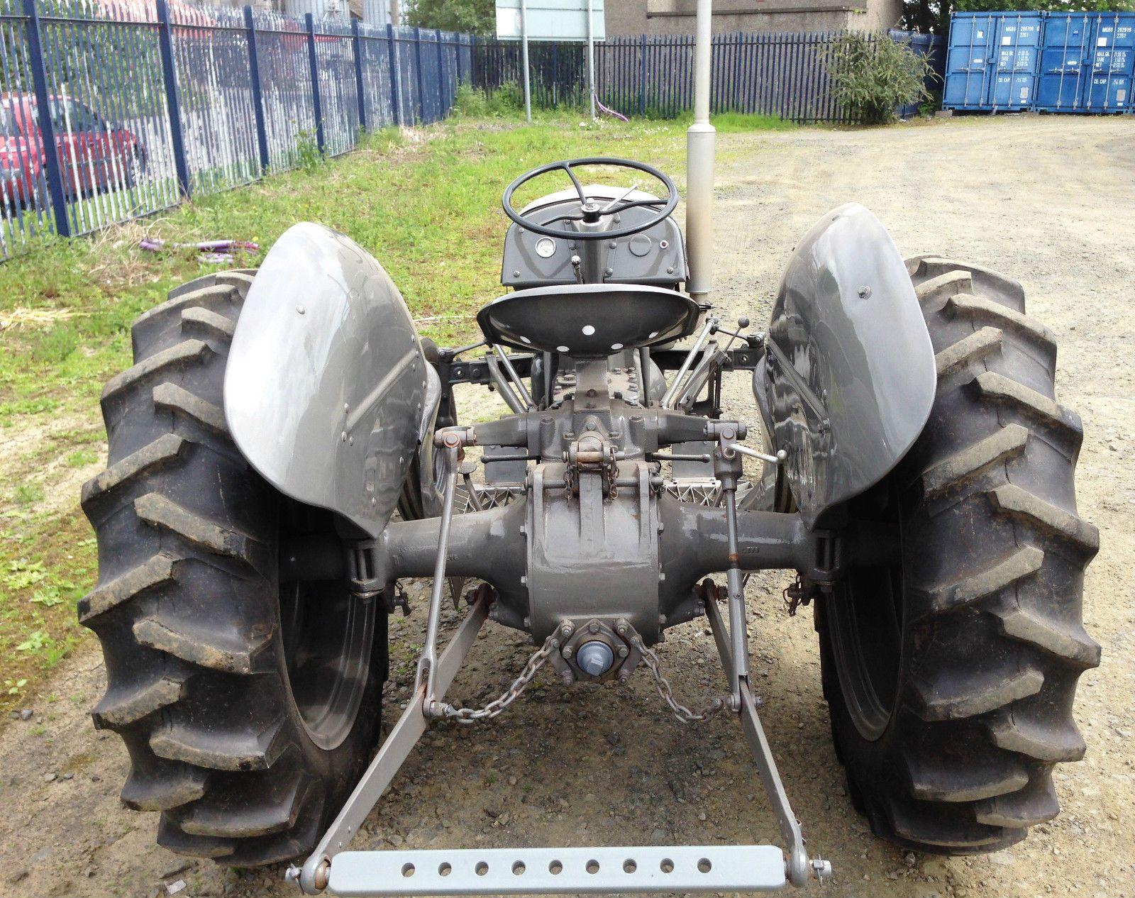 Grey Ferguson Tractor 1949 Tea20 Petrol Tractors Antique