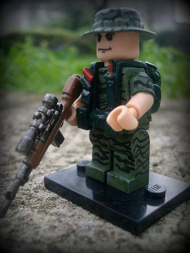 U S Sf In Vietnam Lego War Lego Room Custom Lego Sets