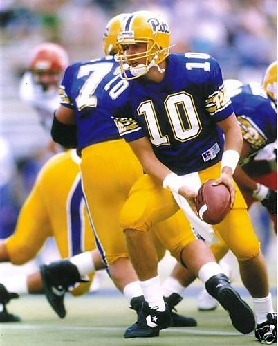 12271adaabd Broke several of Dan Marino's school passing records at the helm at PITT.  now is the current quarterbacks coach of the Green Bay Packers.