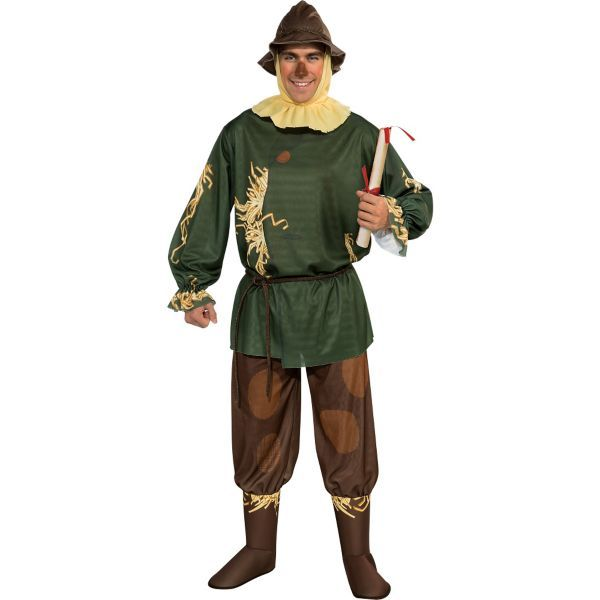 Adult Scarecrow Costume - Wizard of Oz Hoco Dress Up Day Ideas - 2016 mens halloween costume ideas