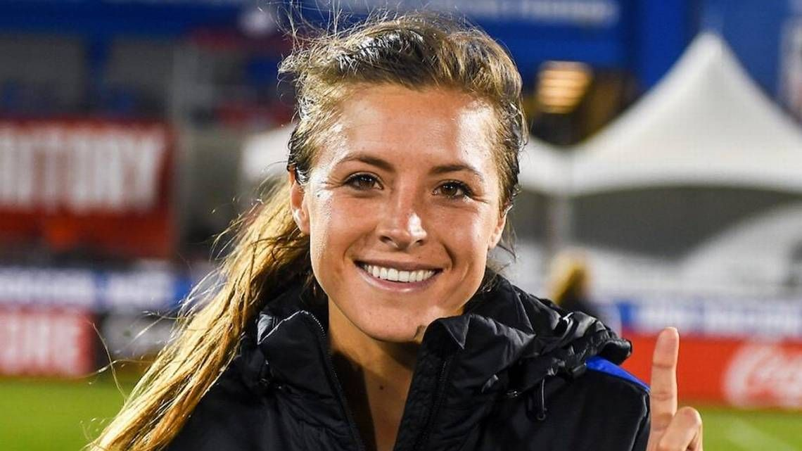 Impressed by her first performance, U.S. women's soccer