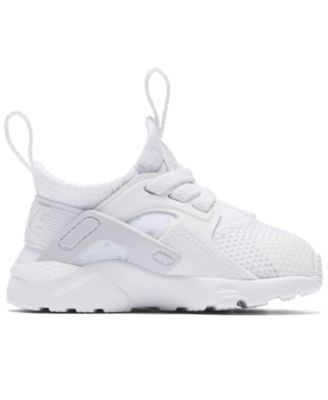 save off 9cbf6 d6522 Nike Toddler Boys  Air Huarache Run Ultra Running Sneakers from Finish Line  - White 10