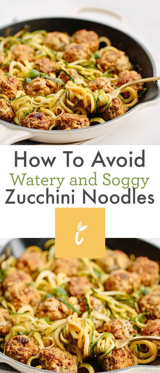 How to Avoid Watery and Soggy Zucchini Noodles images