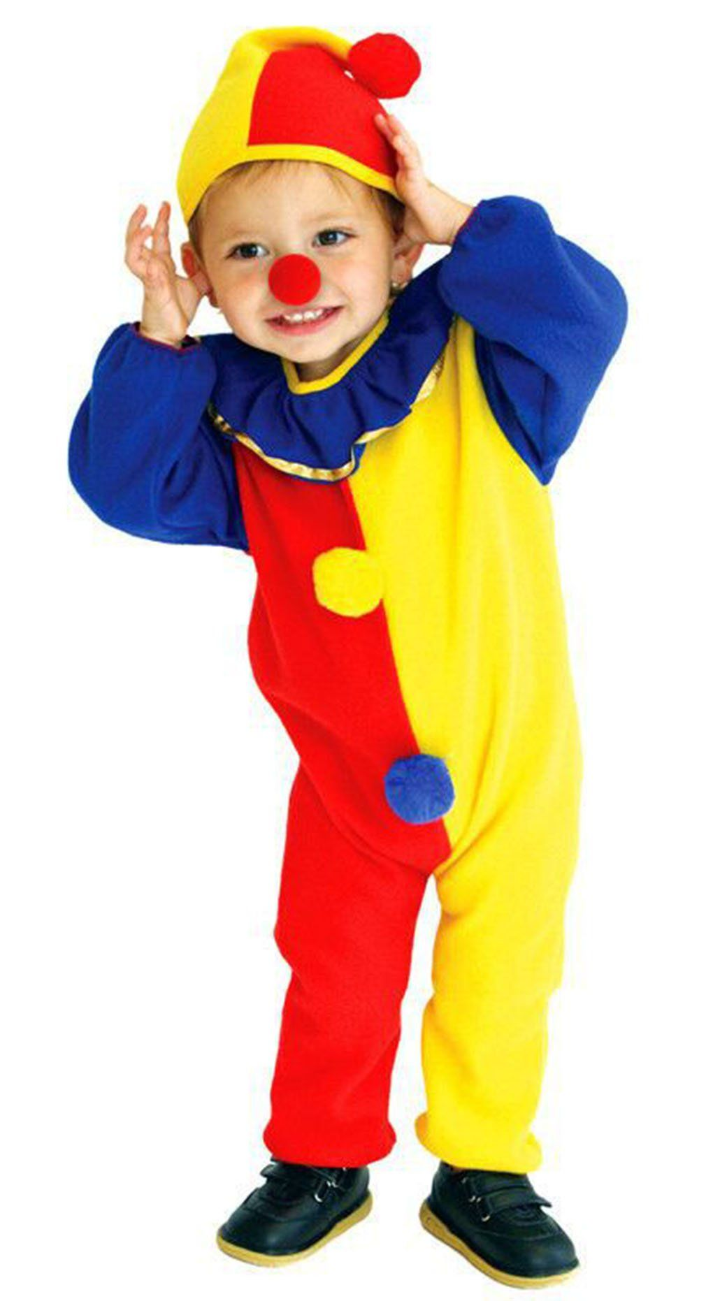 Sweet Clown Costume Kids Baby Halloween Cosplay Party Carnival Thick for  Winter with Hat Size3 *** Ext… | Toddler clown costume, Clown costume,  Fancy dress for kids