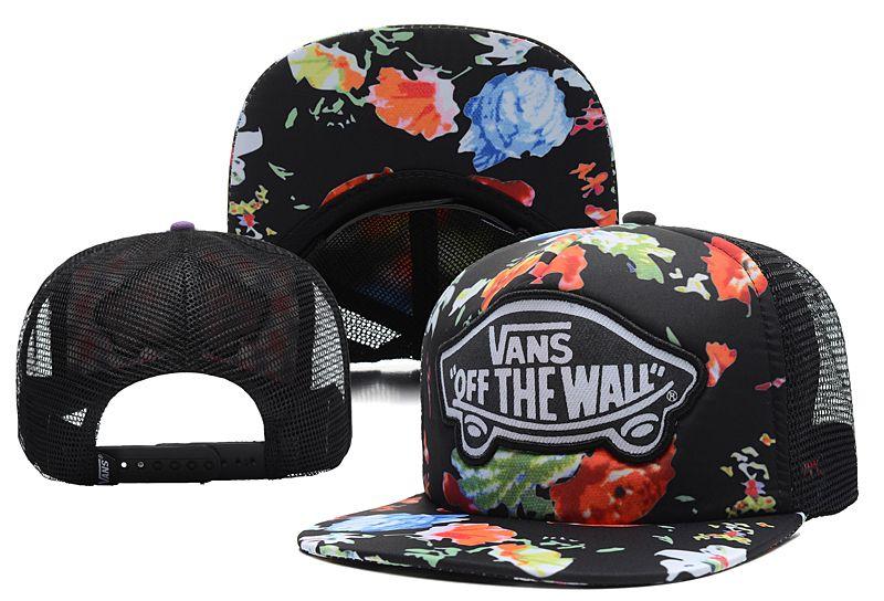 890a8b5c721 Hot Vans Mesh Snapback caps Summer Breathable unisex hip-hop street hat   6 pc