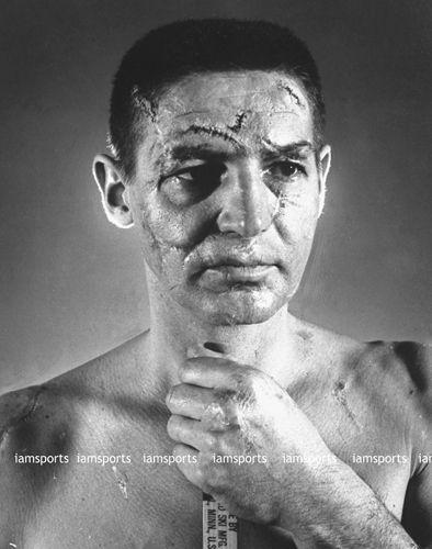 Terry Sawchuk Detroit Red Wings No Mask Face Stitches 8x10 Photo Hockey Goalie Hockey History