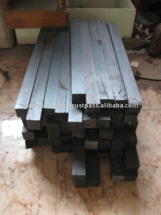 Ebony wood blanks