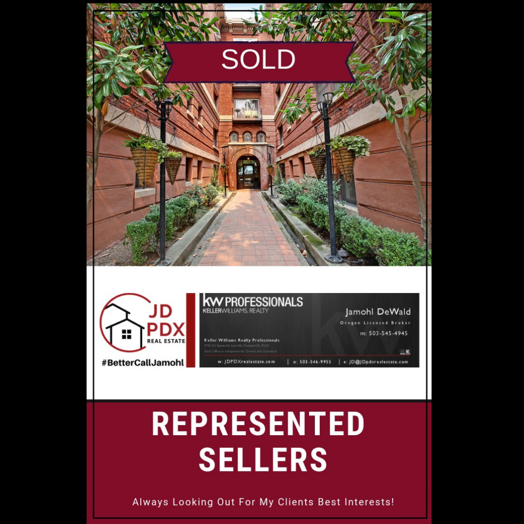Nw Portland Condo Sold Choose A Realtor That Will Market Your