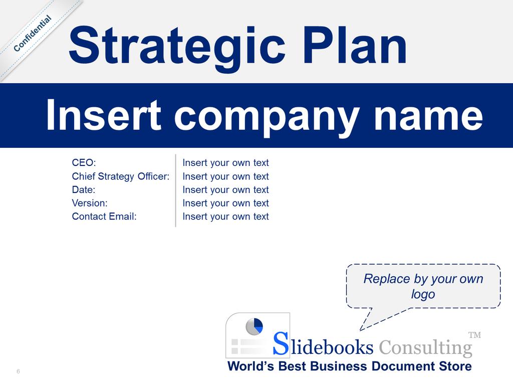Strategic Plan Template Strategic planning template