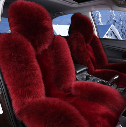Sensational 2 Seats Girly Fur Seat Covers Car Pink Seat Covers Car Alphanode Cool Chair Designs And Ideas Alphanodeonline