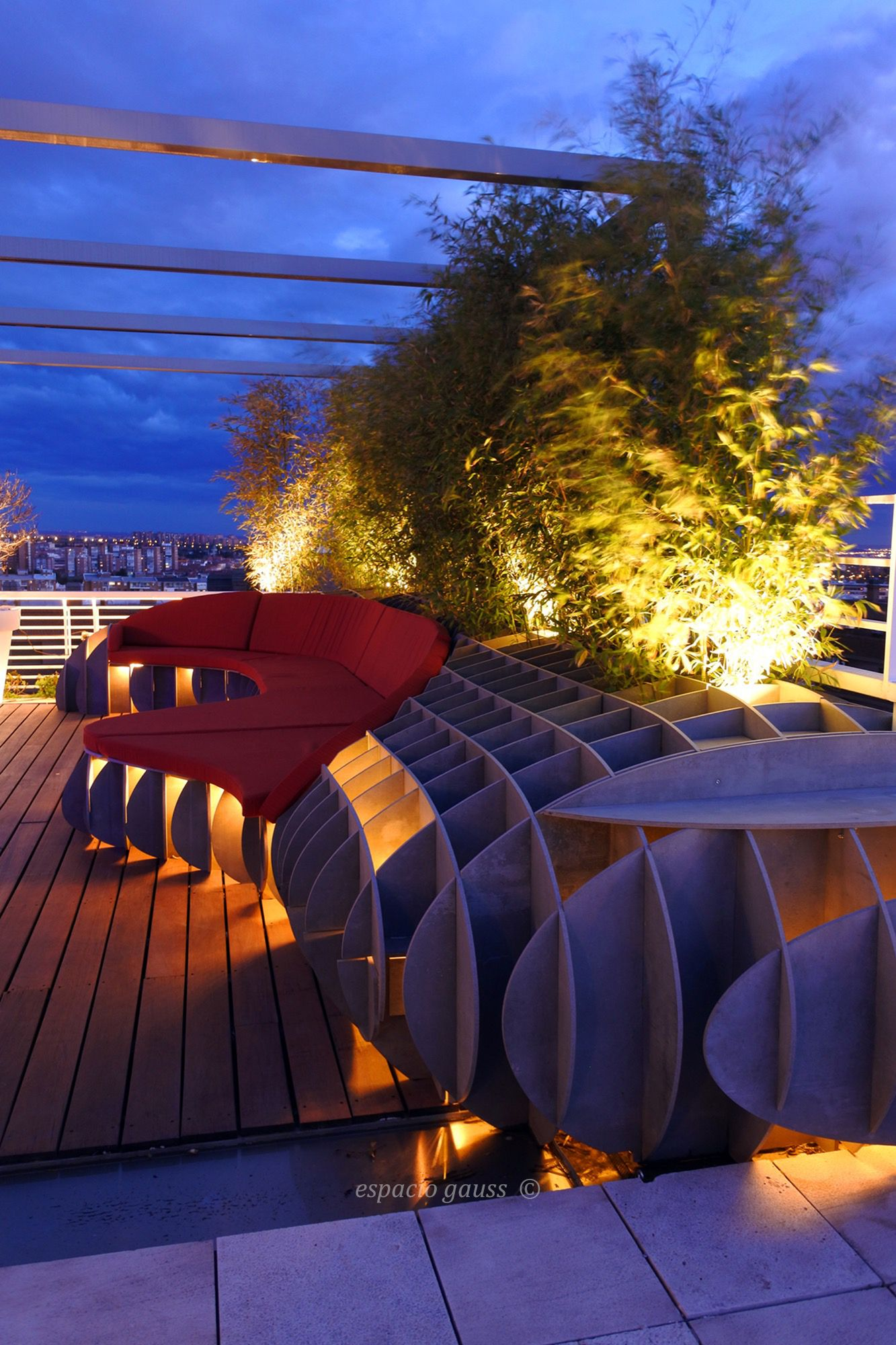 Madrid Controlmad Rooftop Chillout Design Architecture