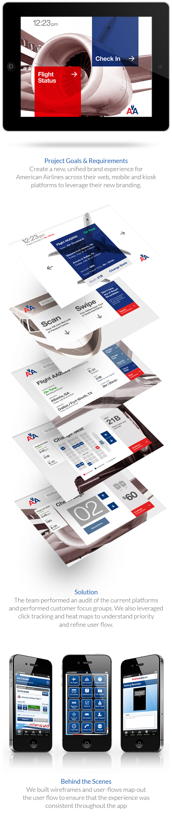 Nch Invoice Software Word American Airlines Web Mobile Kiosk By Steven Fisher Via Behance  Us Customs Invoice Excel with Invoice Generator Online Free American Airlines Web Mobile Kiosk By Steven Fisher Via Behance Confirm Email Receipt Pdf