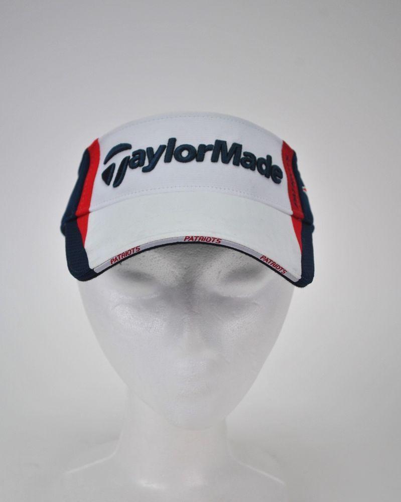 TaylorMade Golf Visor New England Patriots Adjustable NFL Tom Brady PGA T  Max  TaylorMade  NewEnglandPatriots be25f8ca2c11