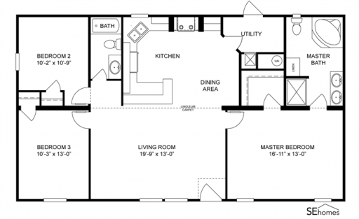 Clayton Homes Home Floor Plan Manufactured Homes Modular Homes Mobile Home Chickenhouses Modular Home Plans Modern Style House Plans Cabin House Plans