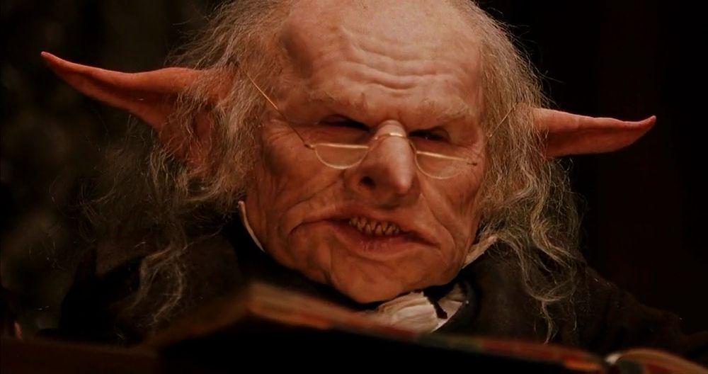 Goblin Harry Potter Creatures Harry Potter Goblin Harry Potter Jk Rowling