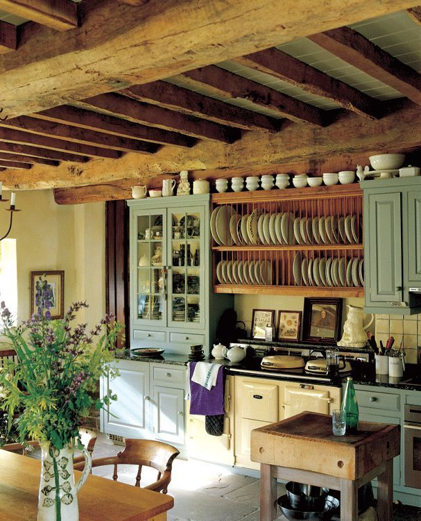 An English cottage kitchen | Rustic kitchen design, Rustic ... on Rustic:mophcifcrpe= Cottage Kitchen Ideas  id=67417