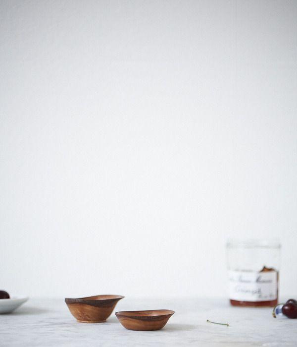 End grain maple bowl.