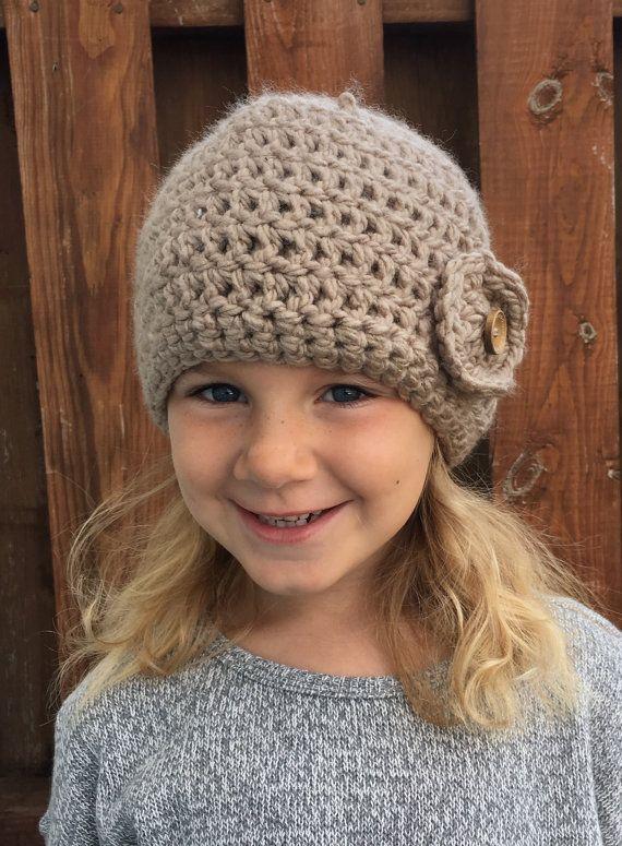 Crochet women beanie/girls beanie/neutral by Toocutecrochetbydian