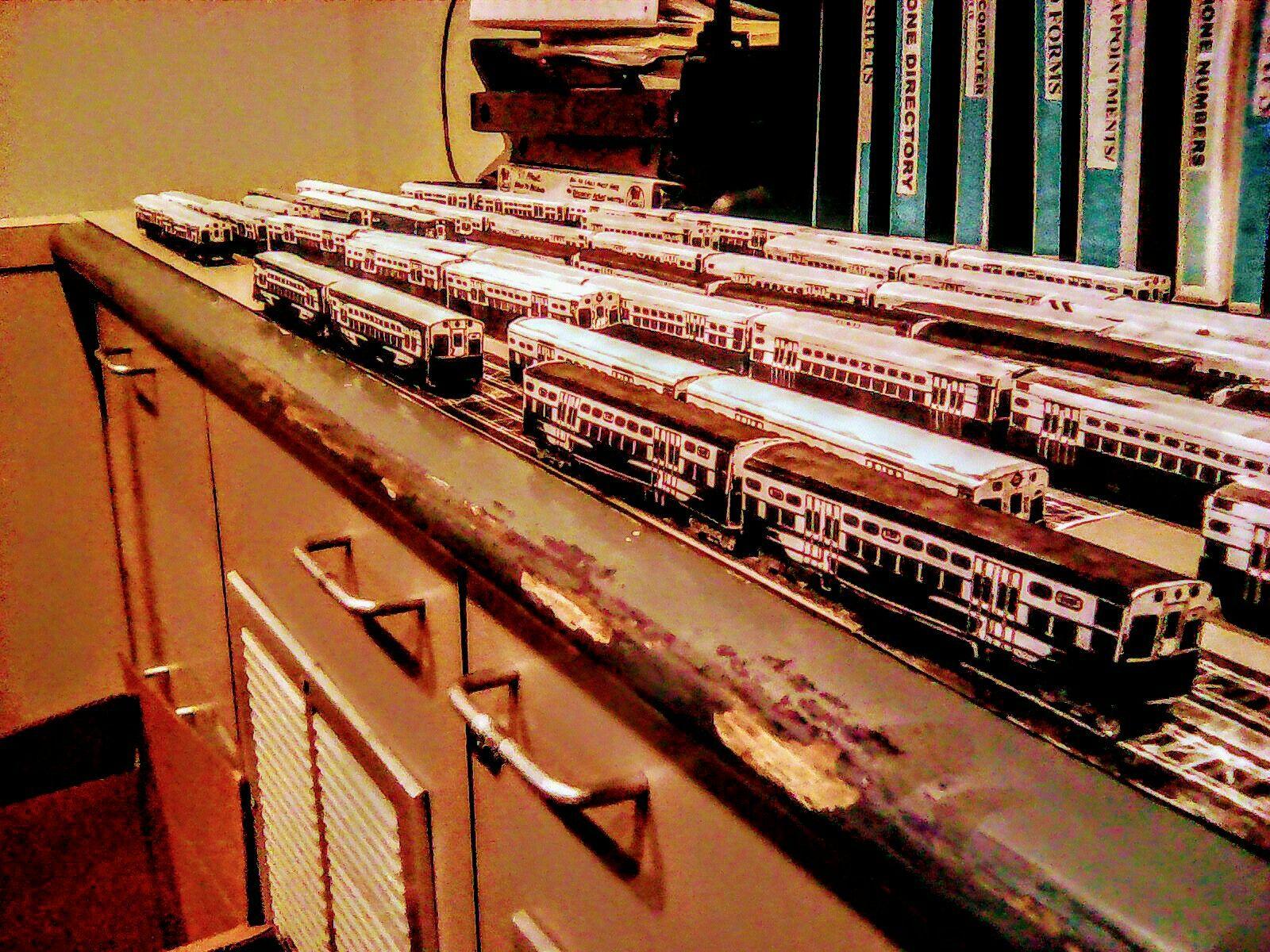 Cta 6000 Series Model Trains Model Trains Model Railroad Ho Model Trains