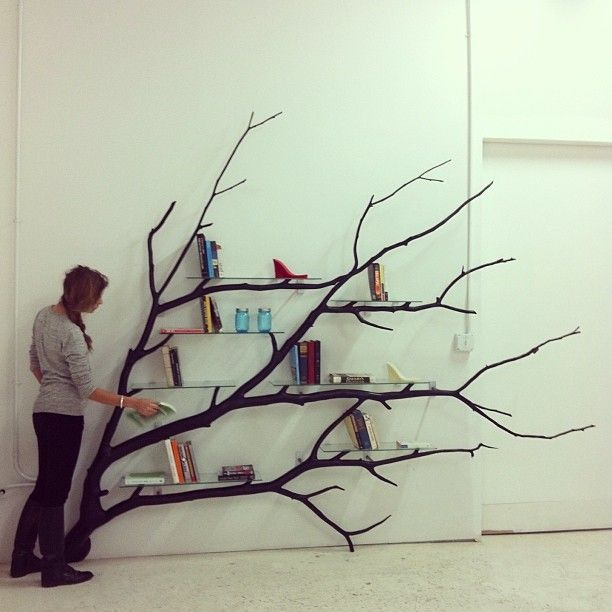 Branch Shelf Brackets Tree Branch Shelf