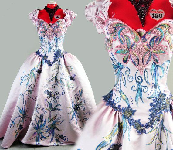 PINK Marie Antoniette Costume Colonial Dress By
