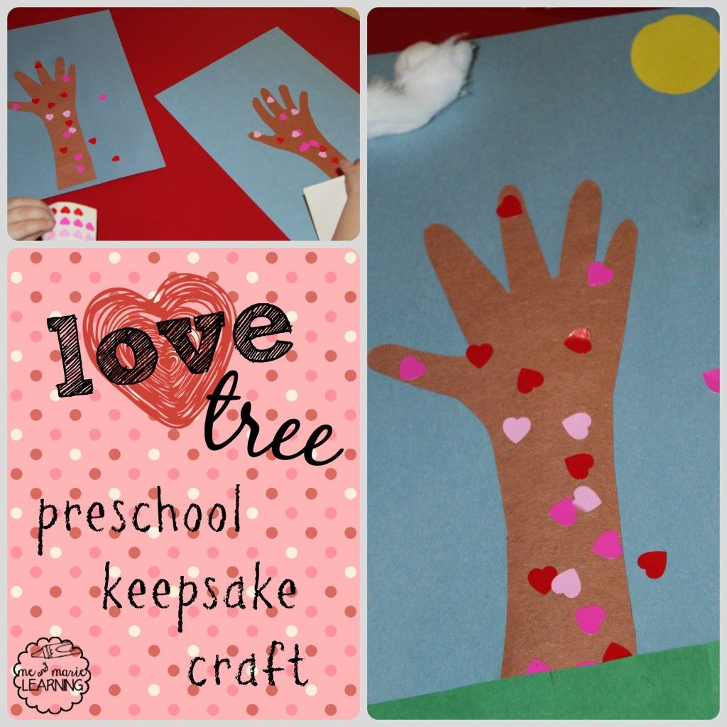 Love Tree Preschool Craft