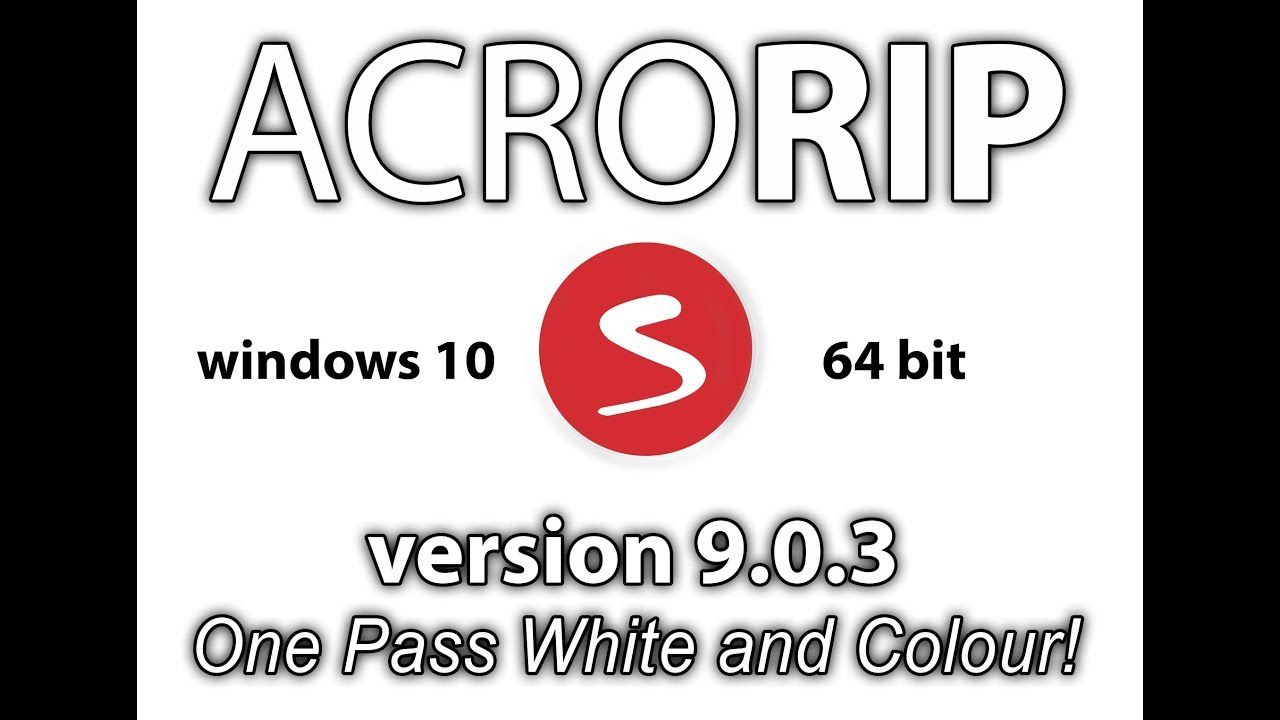 How To Install And Setup Acrorip 9 0 3 Windows 10 64bit Youtube Windows 10 Windows Rollup Banner