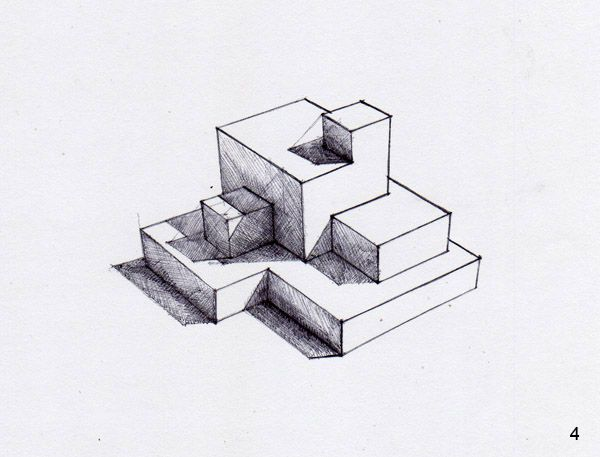 How To Draw Shadows Part 2 Isometric Sketch Perspective