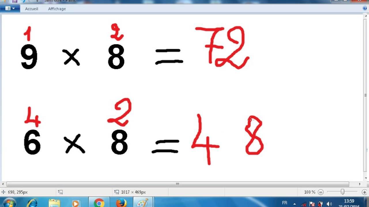 أسرع وأسهل طريقة لحفظ جدول الضرب 9 8 7 6 Youtube Multiplication Math Calligraphy