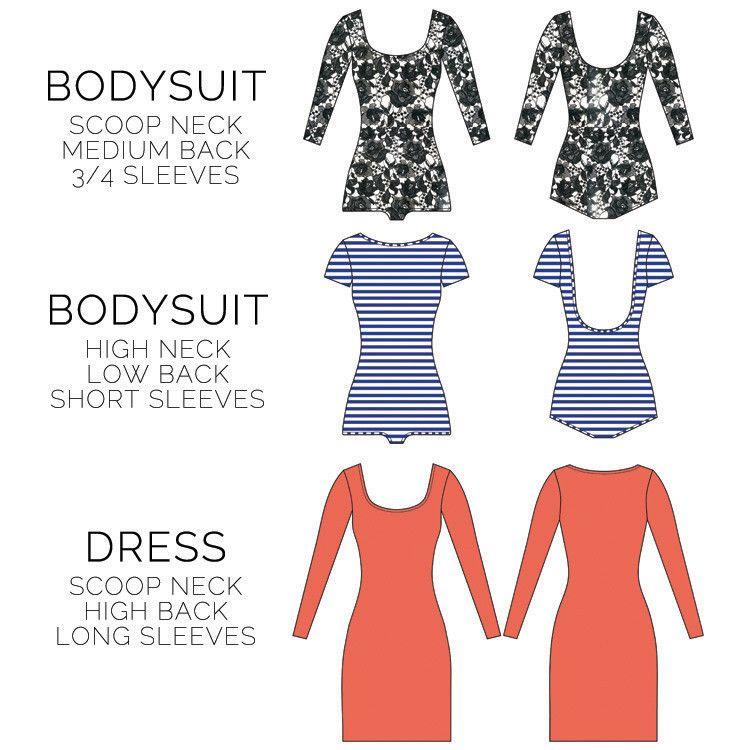 Woollahra bodycon dress pattern pdf free