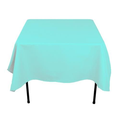 Caribbean 54 X 54 Poly Premier Tablecloth Table Linens Decor