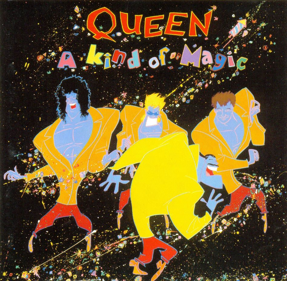 Queen A Kind Of Magic Queen Albums Album Cover Art A Kind Of Magic