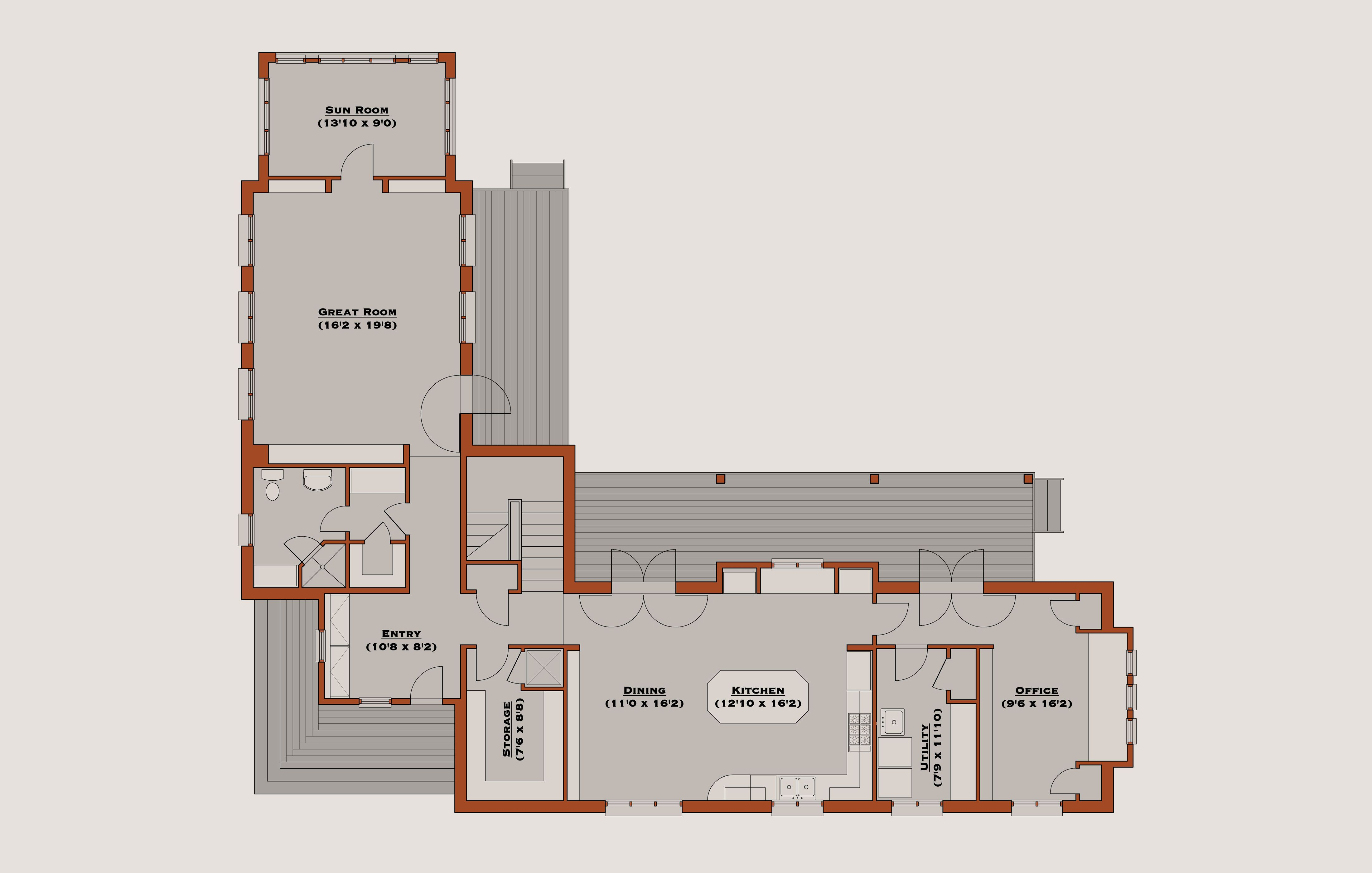 Awesome L Shaped Floor Plans on Home Design Styles ...