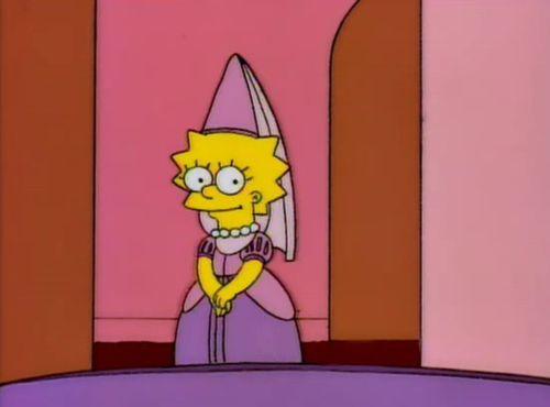 Lisa Mi Pequena Princesa V The Simpsons Lisa Simpson Simpsons Meme