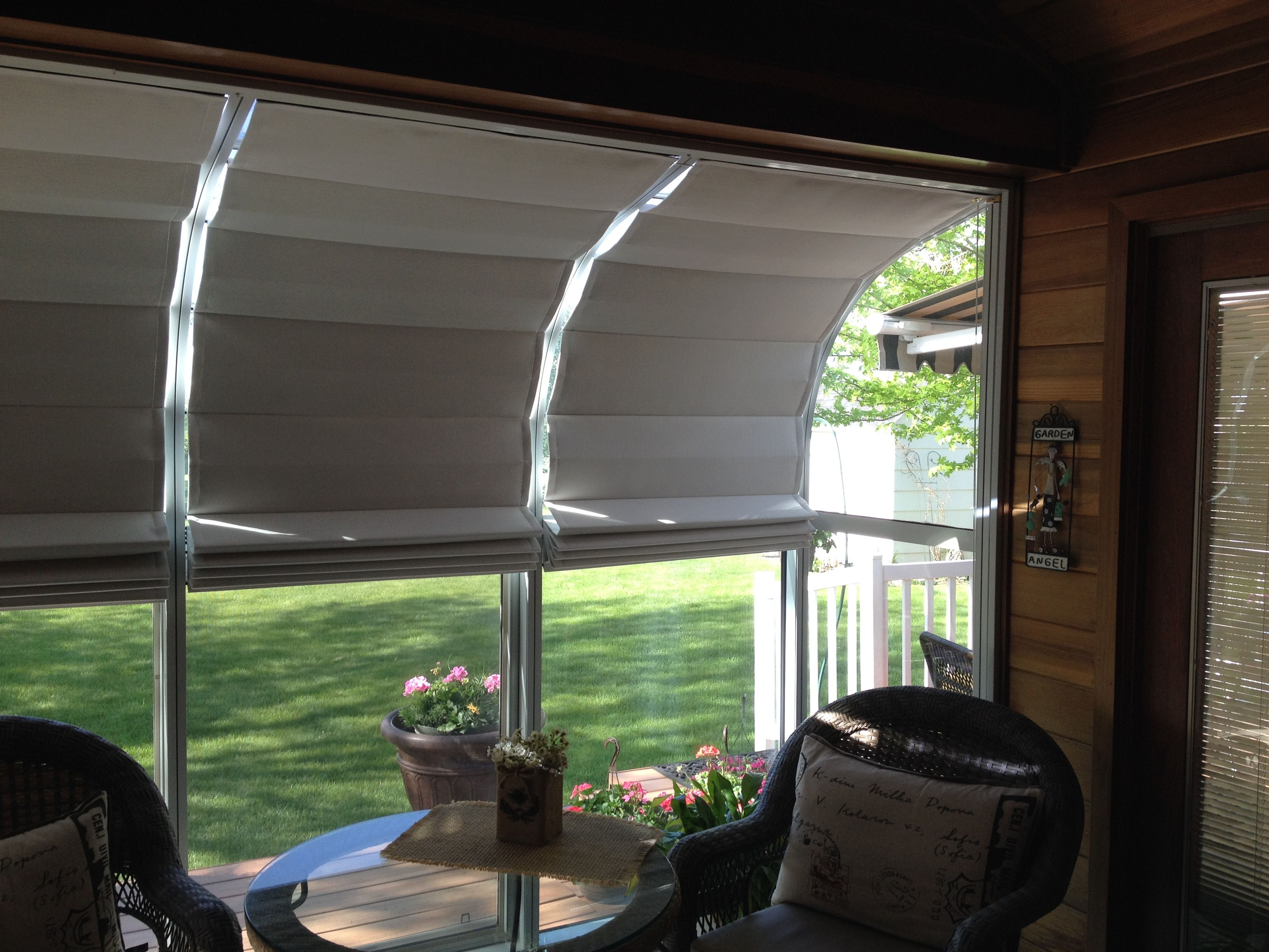 Captivating Our Sunroom Shades Offer Easy, Do It Yourself Installation.