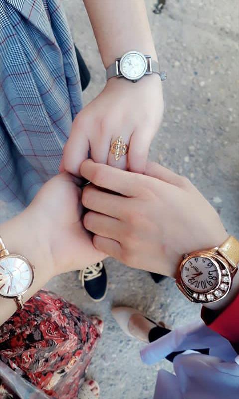 Pin By Barbi Doll On Bҽʂt Fɾiҽɳԃ Girl Hand Pic Girly Jewelry Stylish Girls Photos