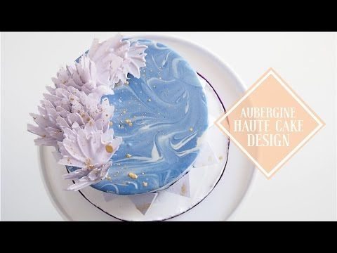 DIY Marble Mirror Glaze Cake | Most Satisfying Mirror Cake Video | Greggy Soriano - YouTube