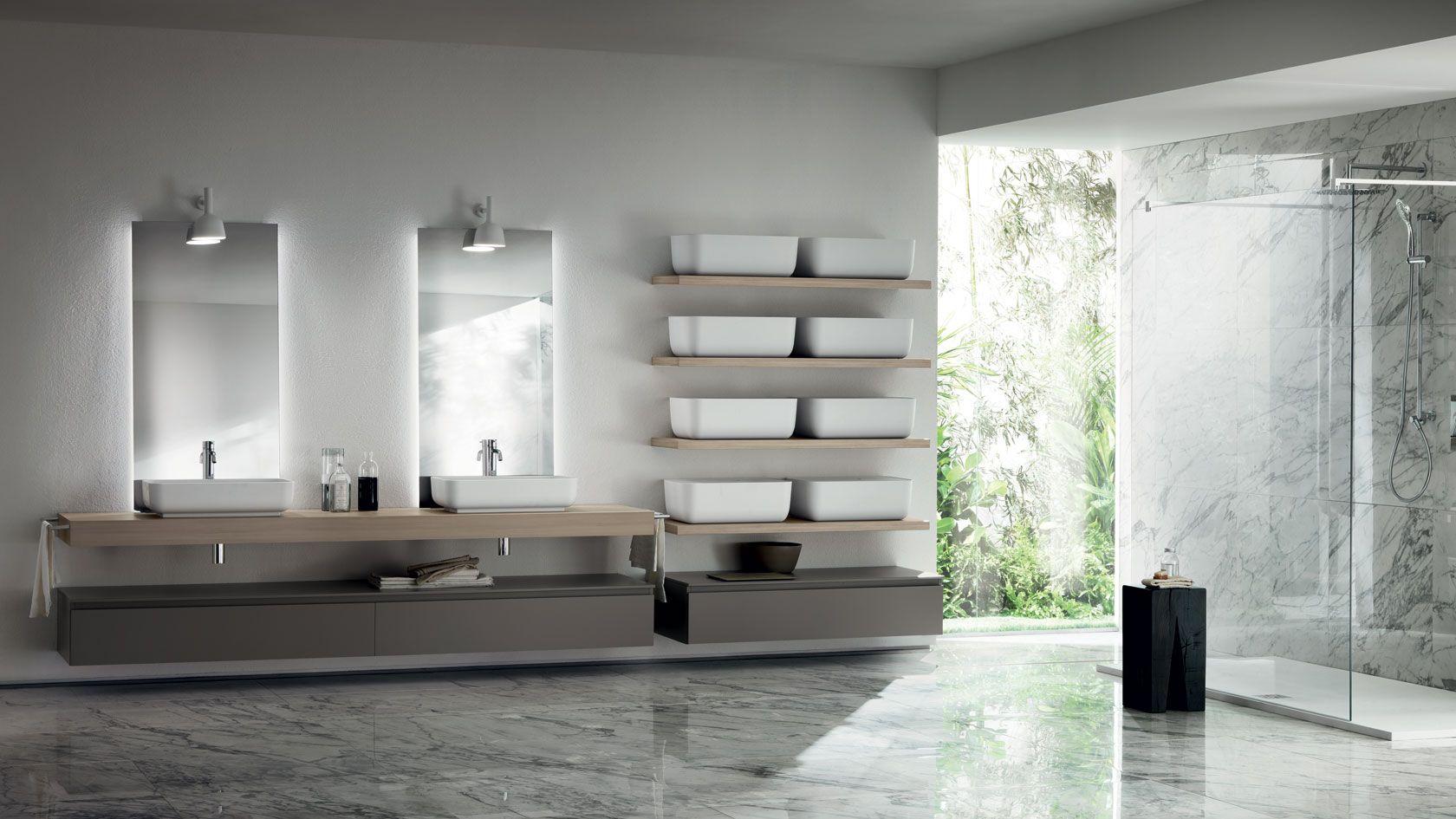 Italian Kitchen Cabinet Qi Bathroom Scavolini Con Immagini