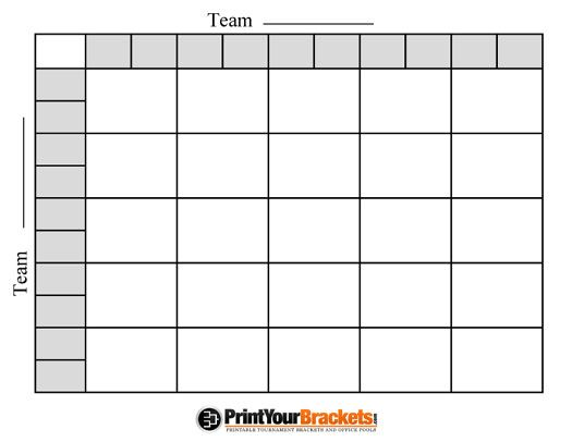 image regarding Printable Football Pools referred to as blank sq. swimming pools Click on here for the printable model