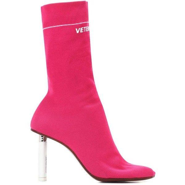 41532ad28 Vetements Lighter-Heel Sock Ankle Boots ( 1