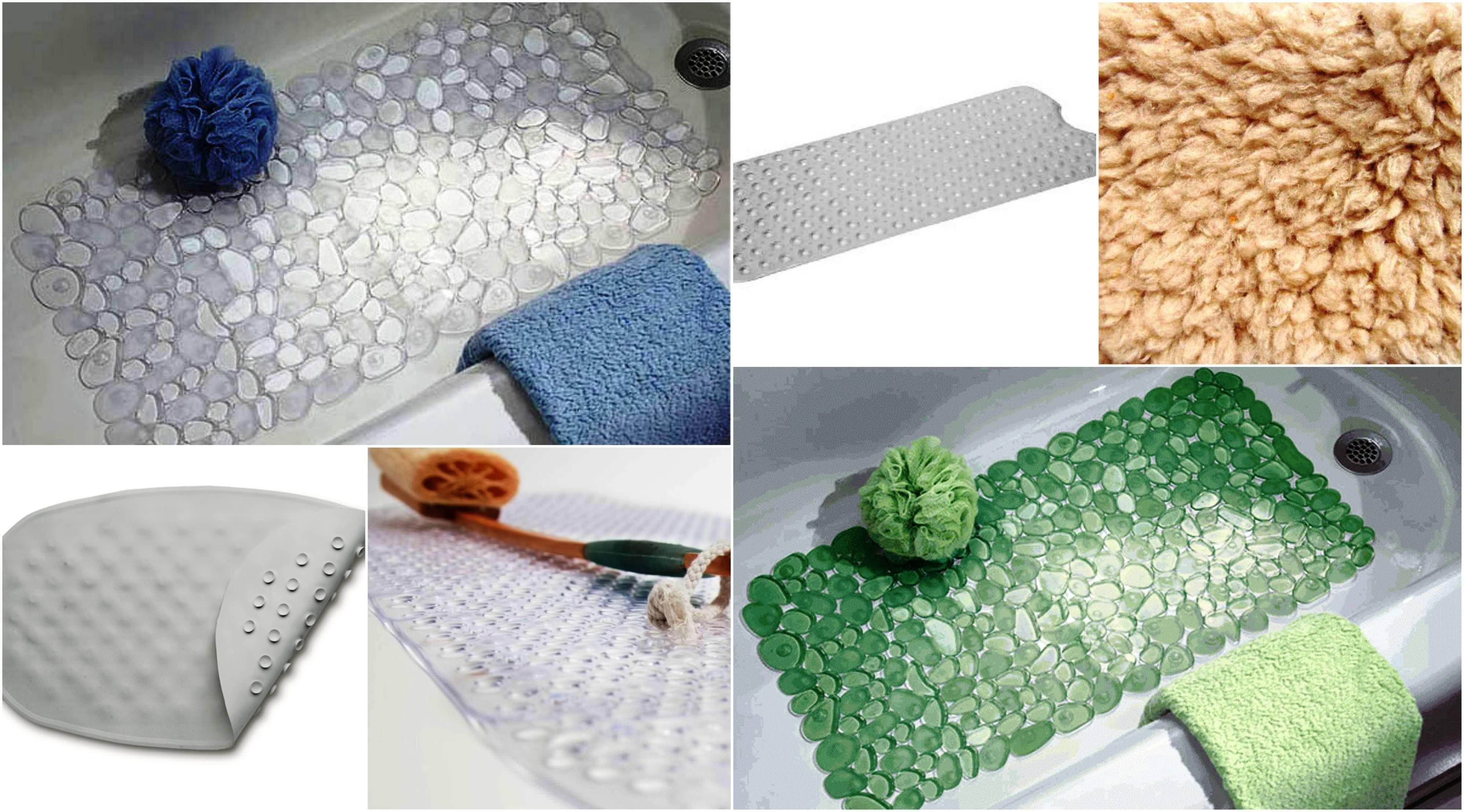 Non Slip Bath Mat For Textured Tub | Bathroom Decor | Pinterest ...