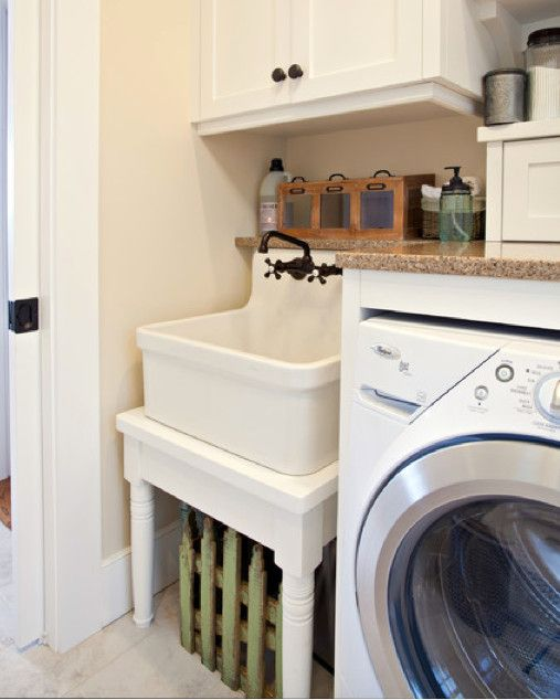 Gilford Cottage Kitchen Laundry Room Sink Vintage Laundry Room