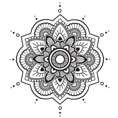 Mandala N 17 En Coloriage A Imprimer Coloriage Mandala