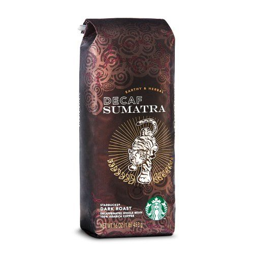 Starbucks Decaf Sumatra, Whole Bean Coffee (1lb) -- Read more  at the image link.