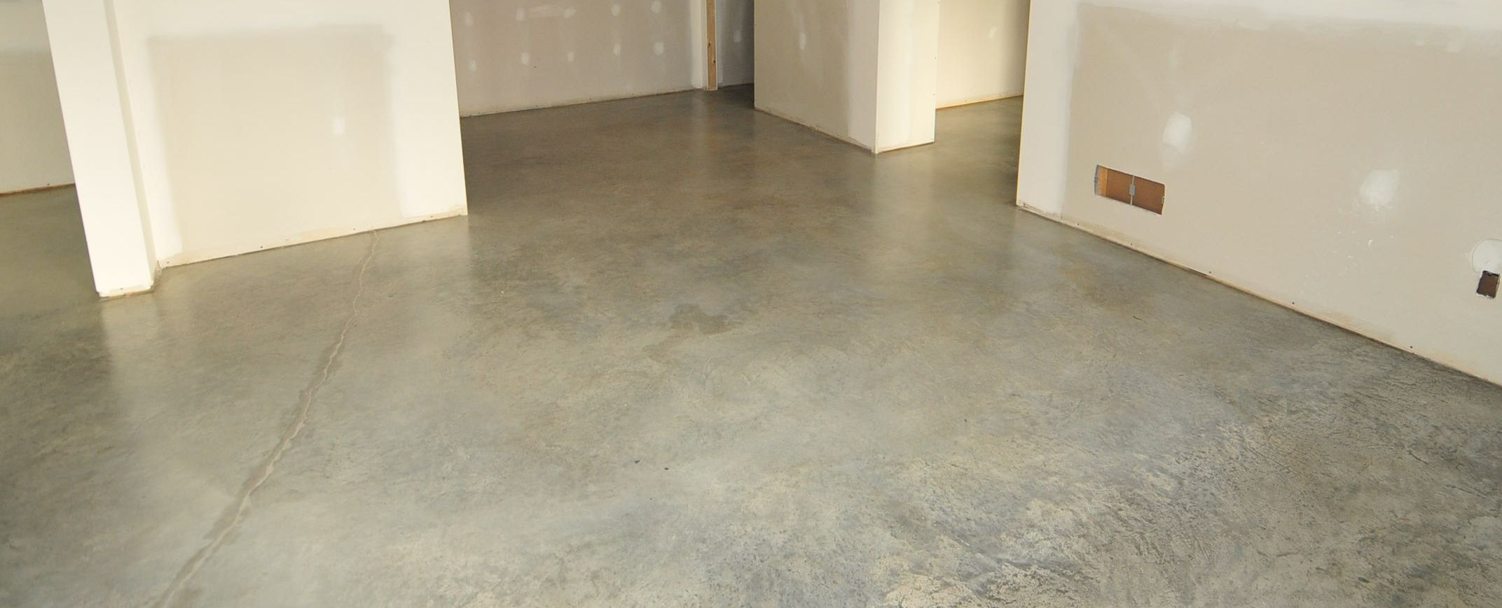 Existing Concrete Basement Floors Look Amazing Naturally A Quick - Cost effective basement flooring